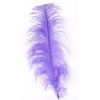 "Ostrich Wing Feathers 18-22"" Lilac"